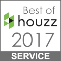 Pacific Interior Design Group is a Houzz Best Service of 2017 Winner!