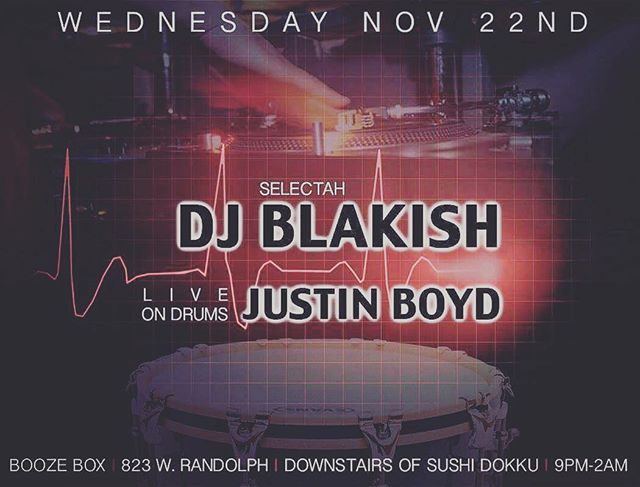 Tomorrow night (11/22) I'll be getting it in with my brother @blakish at Booze Box. Totally FREE!!! ComeThru and say hi!! 👋🏾