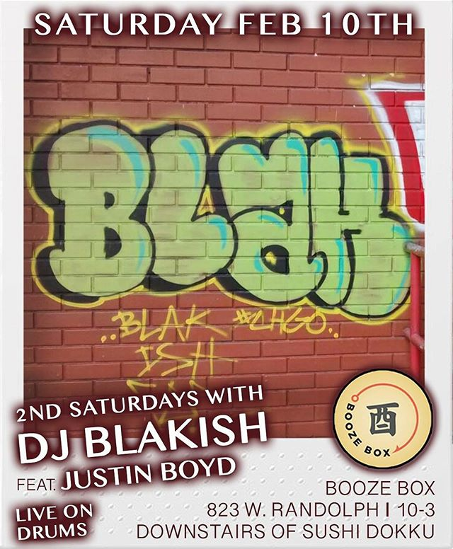 Tonight I'll be at @dokkusboozebox with @blakish. #thebeatpusha #workingdrummer #drummerslife #dj #hiphop #funk #worldmusic