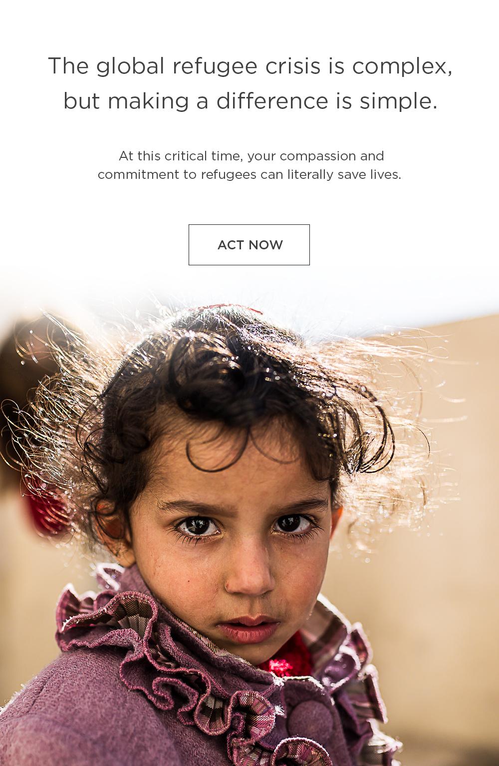 refugee crisis relief response
