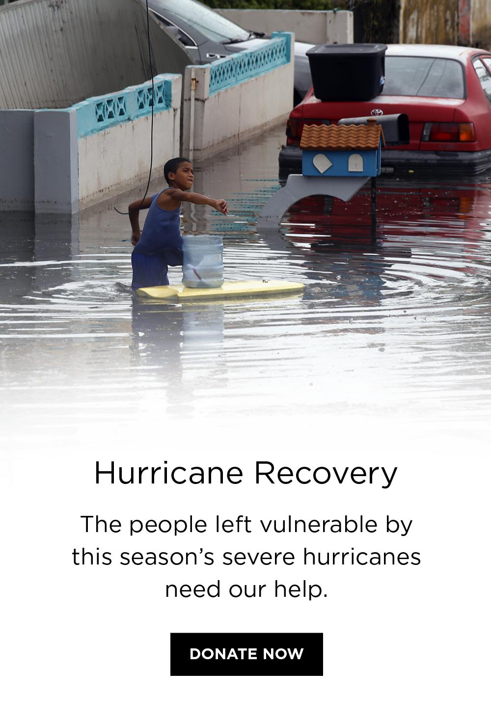 hurricane recovery 2017