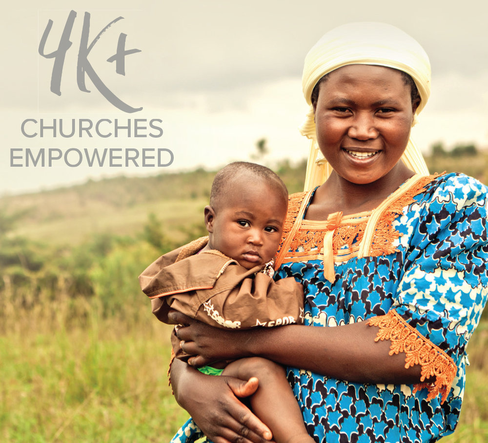 Empowered over four million people through church-based community development in  AFRICA .    >>