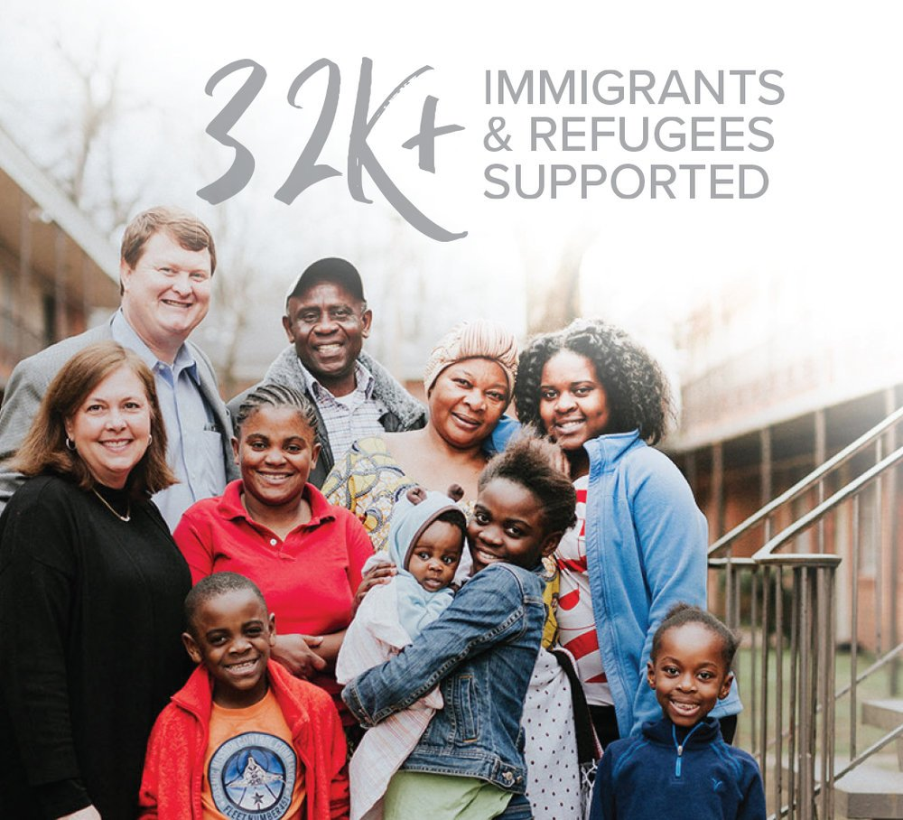 Provided vital services to 32,000 immigrants and refugees across the  U.S .      >>