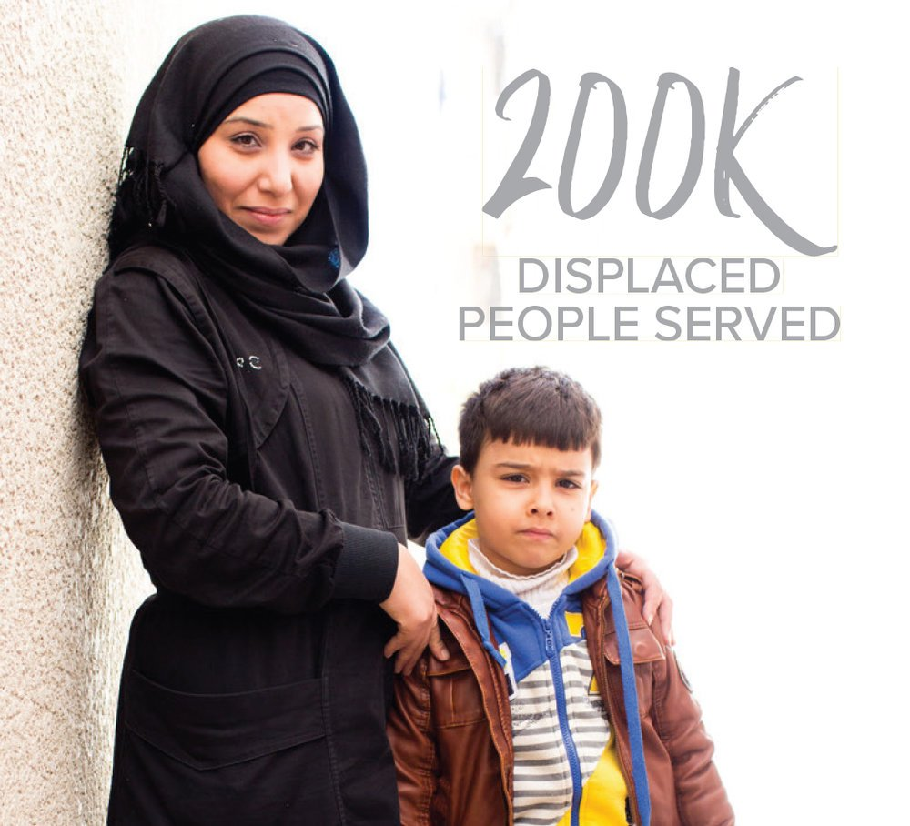 Brought healing to over 200,000 across the  MIDDLE EAST .    >>