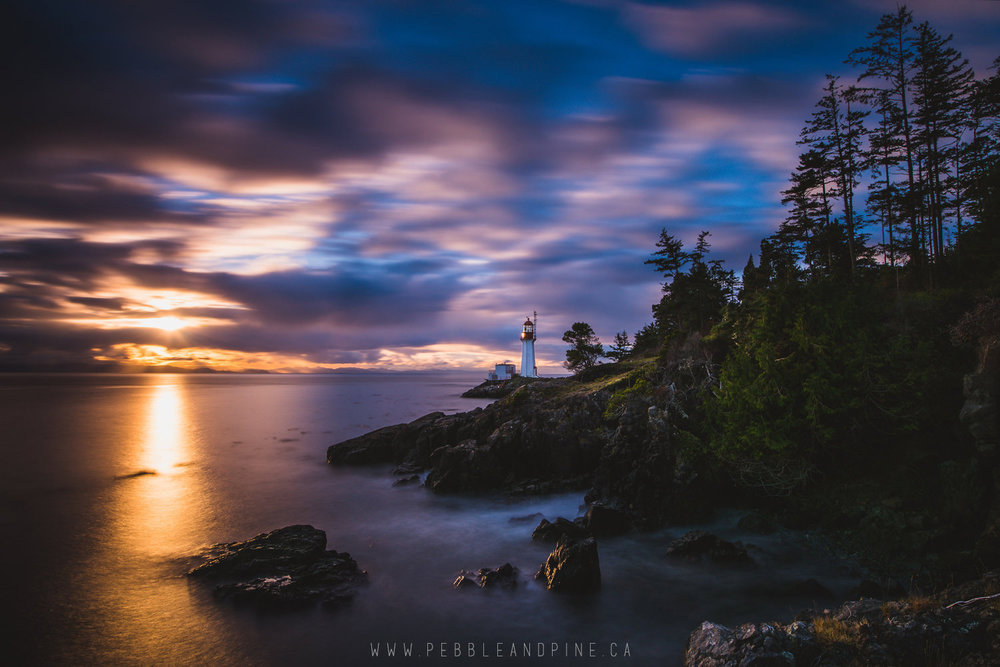 Sheringham Point Lighthouse in Shirley, BC // Captured by Matt