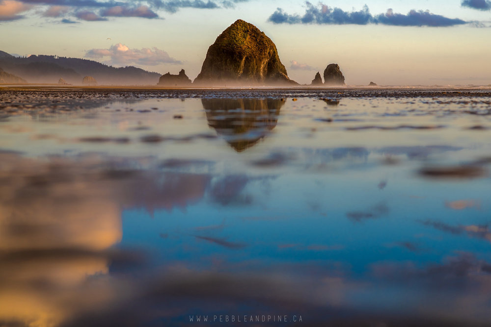 Cannon Beach in Oregon // Captured by Sayde