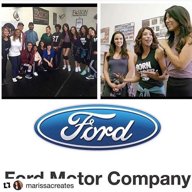 "・・・ TBT- So honored to be featured as a ""Latina on the Move"" by @ford. We got to share the incredible young creative visionaries and the work we are creating @4c_lab. We have over 102K views! So excited to share what we have in store for 2018! Check the link in the bio to see our spot and visit www.4clab.org for more info!"