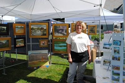 Mary Krause at the festival