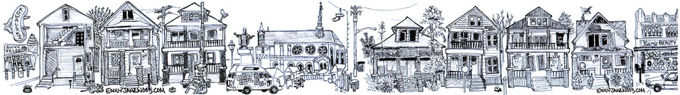 Illustration by Hamtramck artist Emily Jane Wood