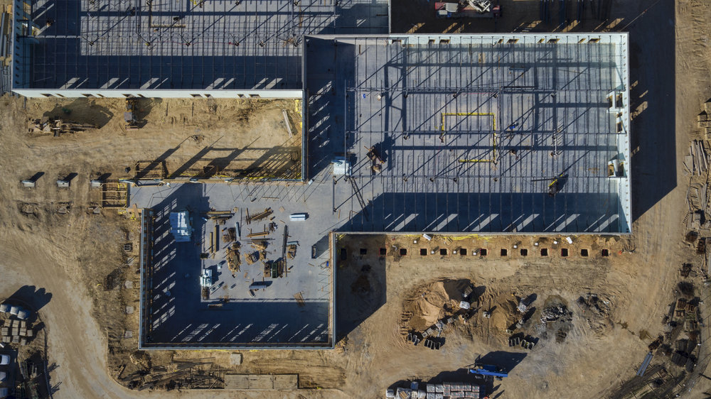 Construction - Bidding and ProgressionModeling and SurveyAerial Time-Lapse