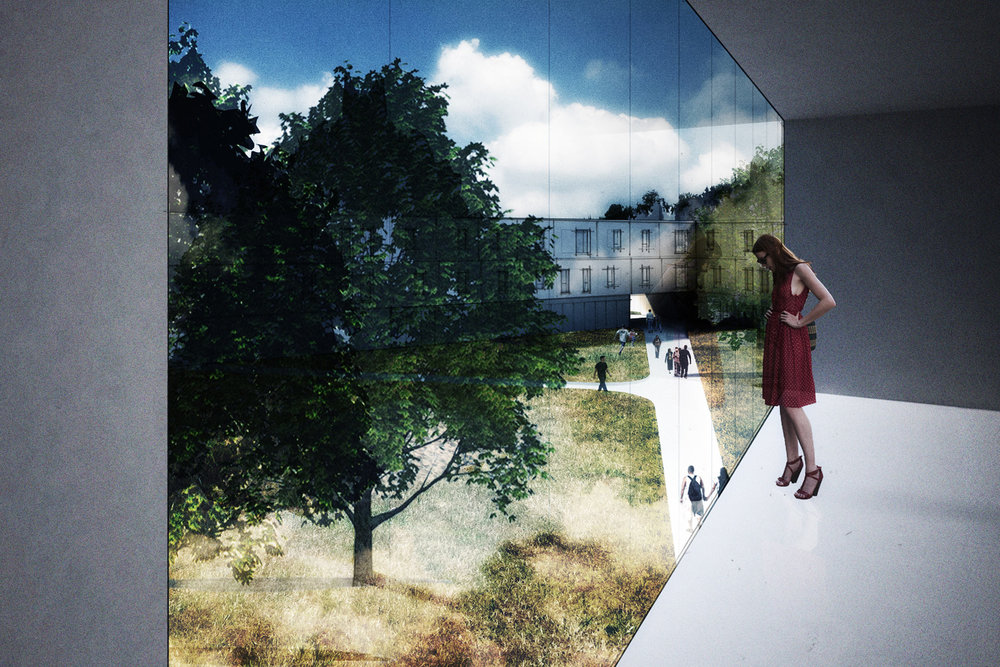 Dormitory Concept Rendering