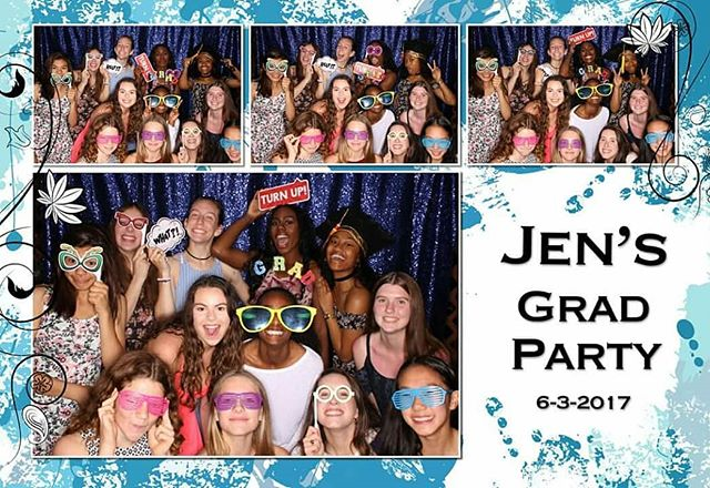 Weddings aren't all we do... we love being part of your grad parties too!  #graduation #philly #gradparty #gradparty2018 #gradparty2019 #photobooth #party #highschool #highschoolgraduation #collegegraduation #philadelphia