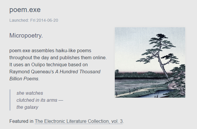 The Electronic Literature Collection, vol.3