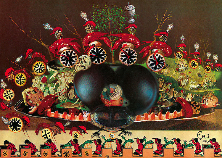 Dalí's Surrealistic Cult Cookery Book