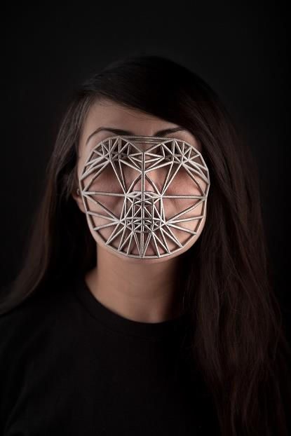 Face cages, Zach Blas (Christopher O'Leary, 2013)