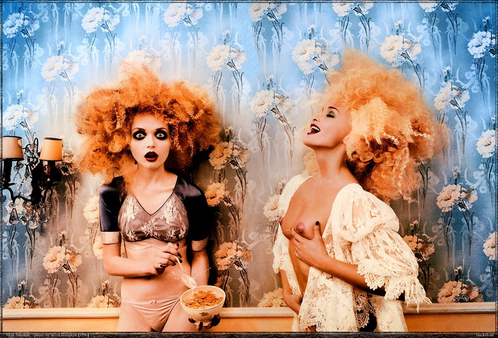 Milk Maiden_David LaChapelle