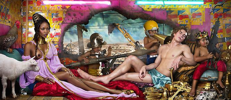 Rape of Africa_David LaChapelle