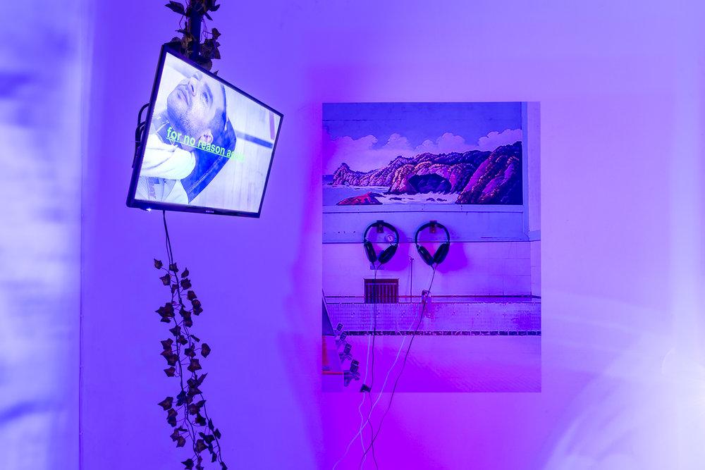 Lea Collet & Marios Stamatis, Is it like the Ocean?, 2017, detail shot