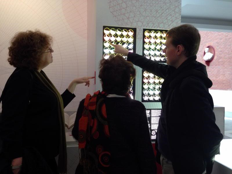 Exhibition view of  Beautiful Science: Picturing Data, Inspiring Insight  (The British Library 2014)
