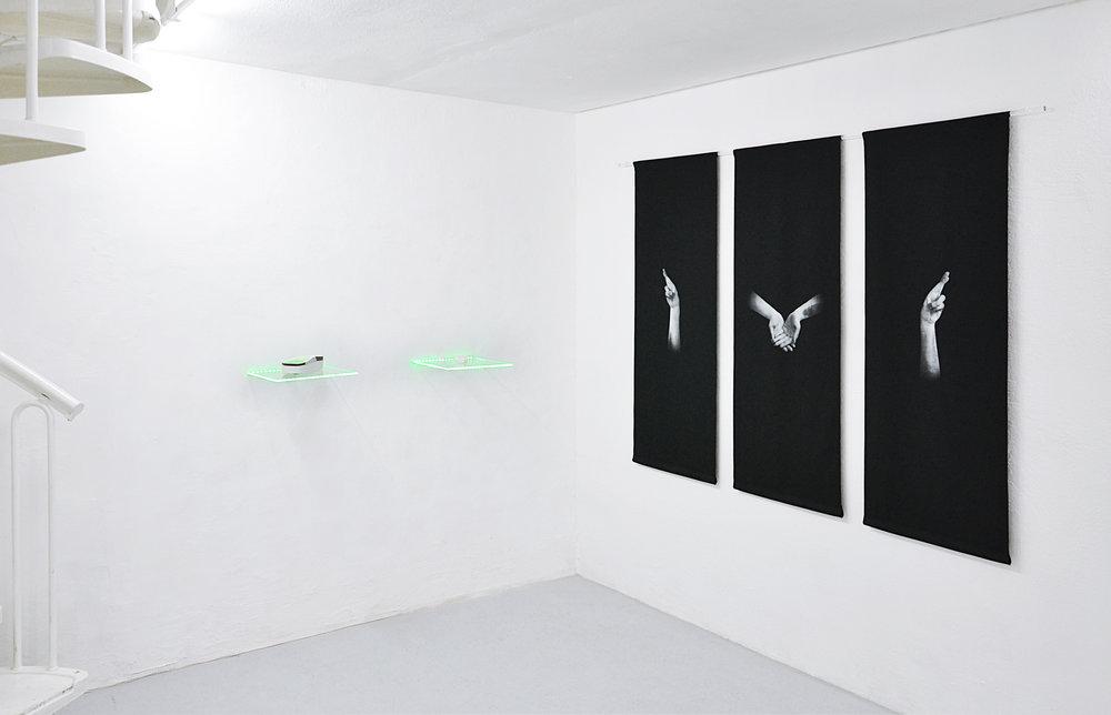 01 Tania Fiaccadori, Sea-Monkeys Cult, installation view, Dimora Artica, 2018.jpg