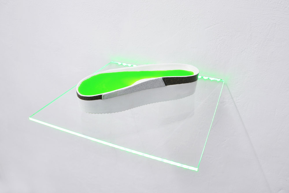 20 Tania Fiaccadori, Sea-Monkeys Cult, plastics, fluo pigment, plexiglass, led lights, courtesy Dimora Artica, 2018.JPG