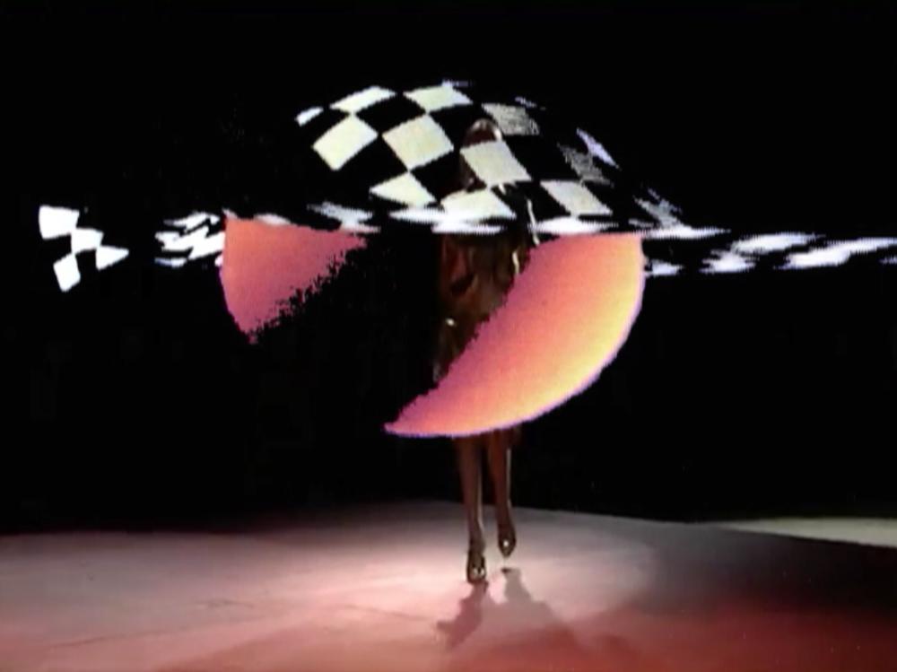 Cheryl Donegan, Blood Sugar, still from video, col., 21 min., 2008.