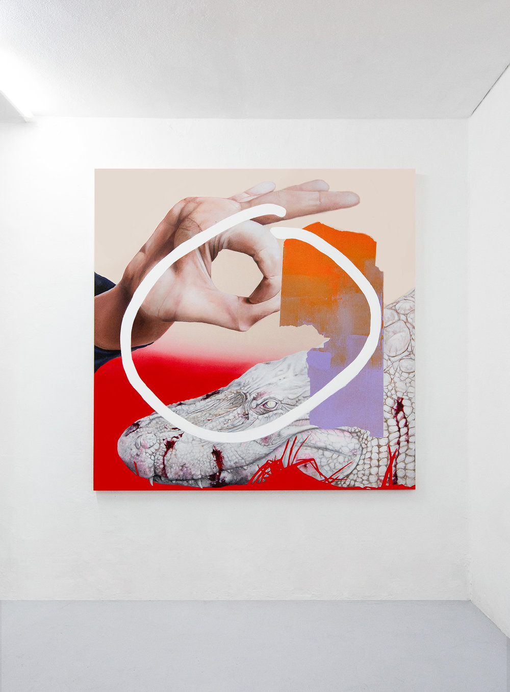 3 Andrea Martinucci - Glory Black Hole, exhibition view, Dimora Artica (ph Andrea Cenetiempo).jpg