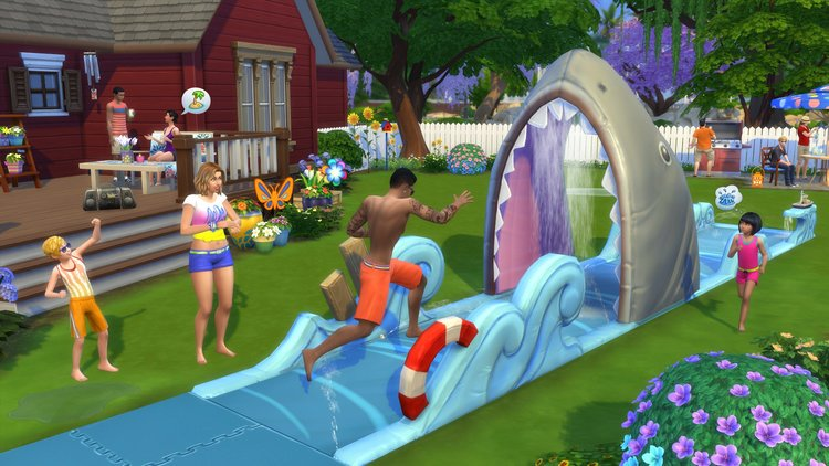 The Sims: A Life Simulator as a Means of Building Identity
