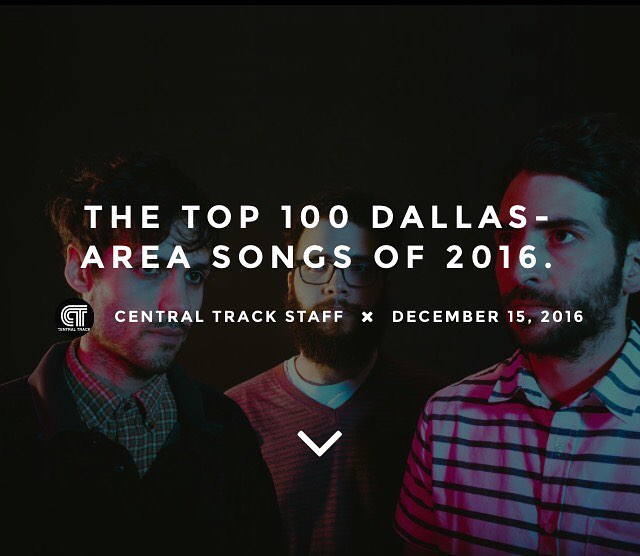"@centraltrack named ""Teenage Crimewave"" as one of the top songs of 2016.  Thanks for the props y'all  Original photo by @baileydale"
