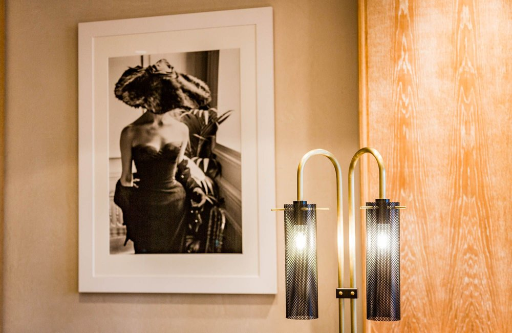 Custom Banquette Sconce
