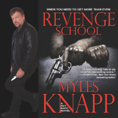 Myles Knapp -  Representation/Licensing  Myles Knapp has been held at gunpoint by the Rio police, fought for his life against a hammer-wielding psycho and learned full contact judo fights to Marines than he can count. As a reviewer, he's read over 5,000 thrillers and is determined to learn another 5,000. A marketing and sales professional, he has lived and worked in the United States, Asia, Europe, Australia and New Zealand.