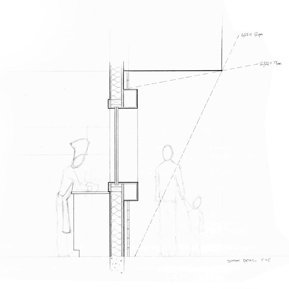 Kitchen Window Section
