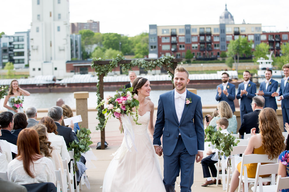 Harriet Island Pavilion String Duo Wedding