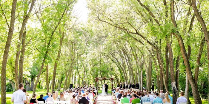 Wedding Ceremony at Carlos Creek Winery, Alexandria, MN