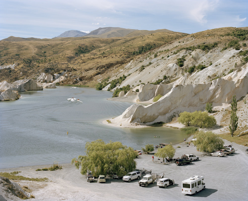 Blue Lake, St Bathans, 2015