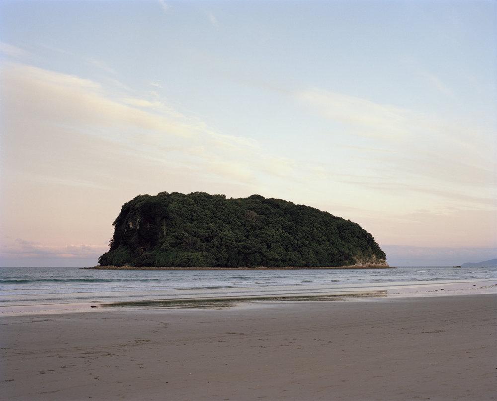 Hauturu Island from Whangamata, 2016