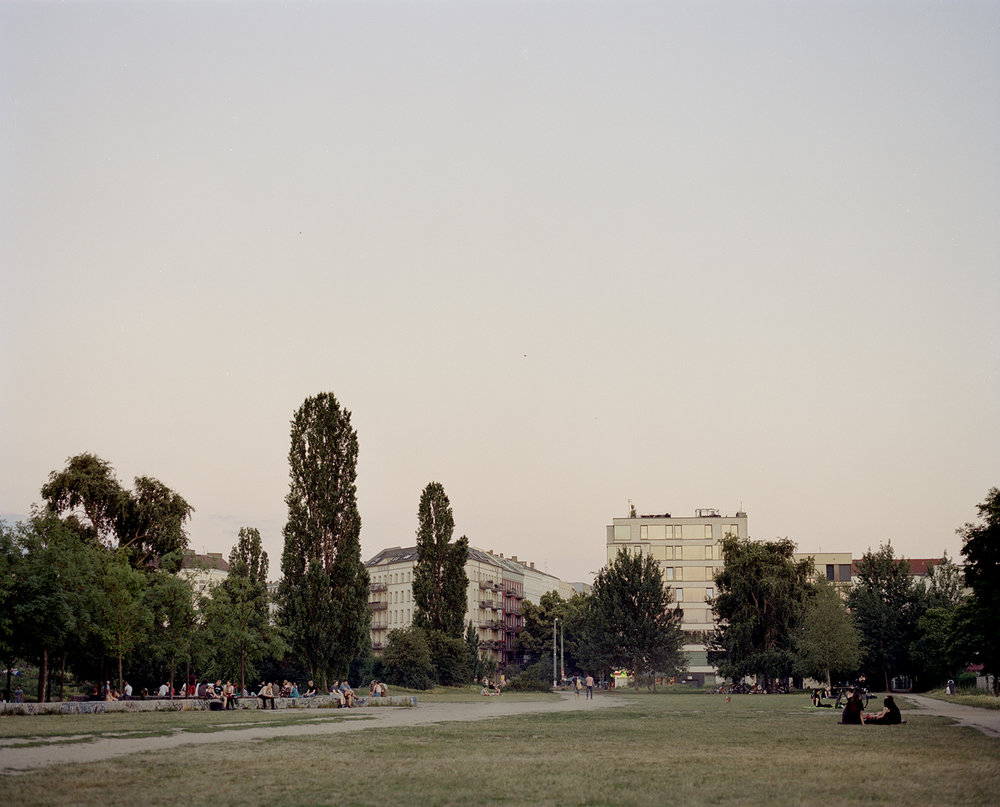 Mauer Park (Looking south)