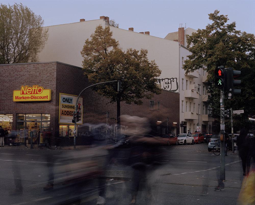 Corner Sonnenallee & Weichselstraße
