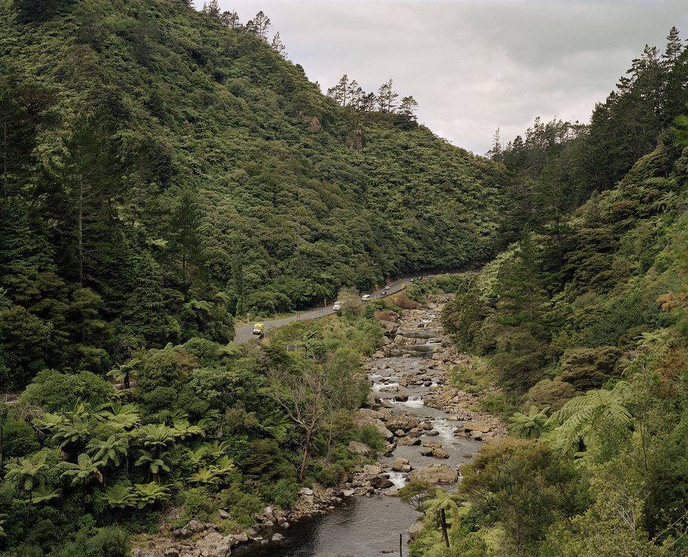 Ohinemuri River, Karangahake, 2016