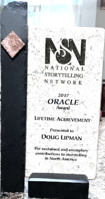 Lifetime Achievement Award trophy