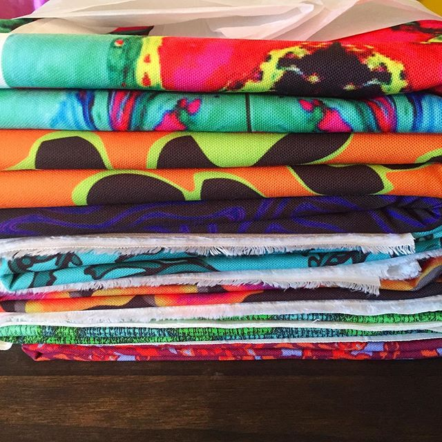 😍 #stacked #fabric #lining #patterns