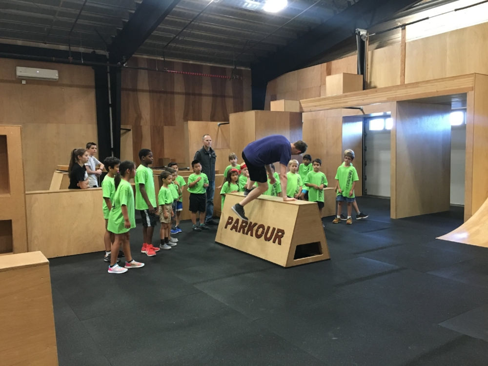 Summer camp collaboration with AIM High Martial Arts