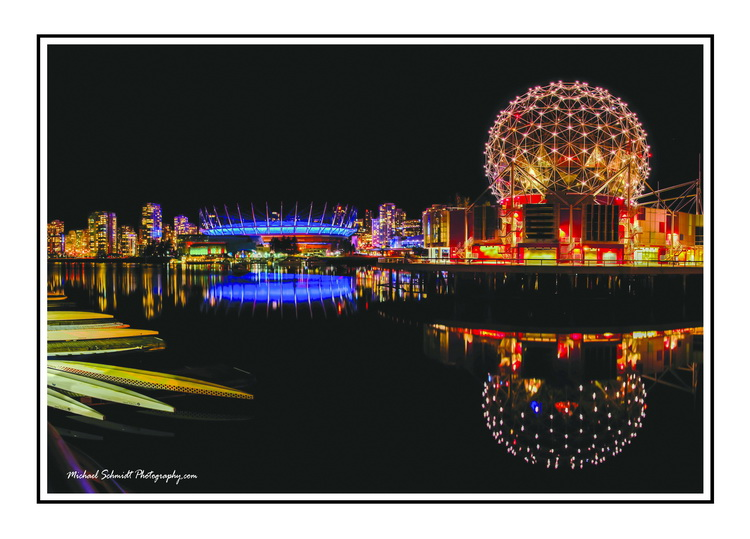 2013-11-03 Vancouver Science World BC Place Panoramic-1