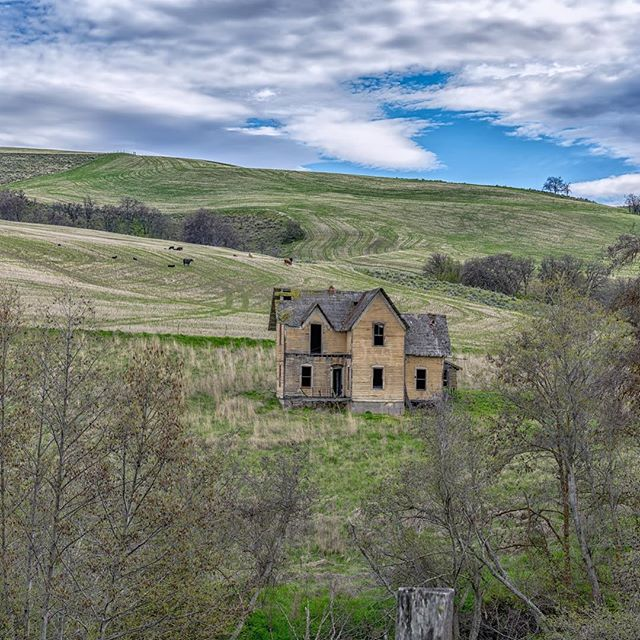 A beautiful old abandoned house on Eightmile Road near Dufur in Wasco County, Oregon.  I love the old architecture in this area!  Thank you very much for viewing my work, and thank you VERY MUCH for almost 2.2 MILLION views on my Flickr site:  https://www.flickr.com/photos/dmichaelschmidt/  That's unbelievable!! I really very much appreciate all the support I receive.  Receiving favorites and comments on my images is always appreciated!  I'm glad so many people enjoy my work. :-) Please Like me on Facebook: https://www.facebook.com/MSPhotographyVancouver Please don't forget to check out my other websites, which can be accessed through: http://www.michaelschmidtphotography.com If you'd like to contact me about my photography, or you'd like to purchase canvas or aluminum prints of my work, please contact me at :  dm.schmidt@shaw.ca Thank you. #MichaelSchmidtPhotographyVancouver  #MSPixVancouver  #ThisIsWhatISee  #MichaelSchmidtPhotography.com #abandoned  #OregonIsAwesome  #DufurForever  #Derelict #WascoCounty  #DufurOregon  #House #Abandoned_Junkies  #Abandoned_Seekers  #AbandonedOregon #AbandonedPlaces  #Abandoned_Addiction