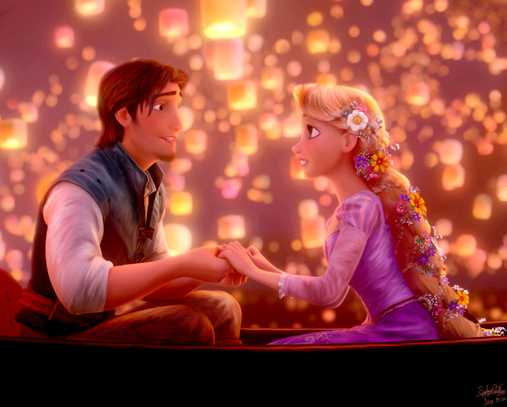 """All at once, everything looks different, now that I see you."" --Tangled"