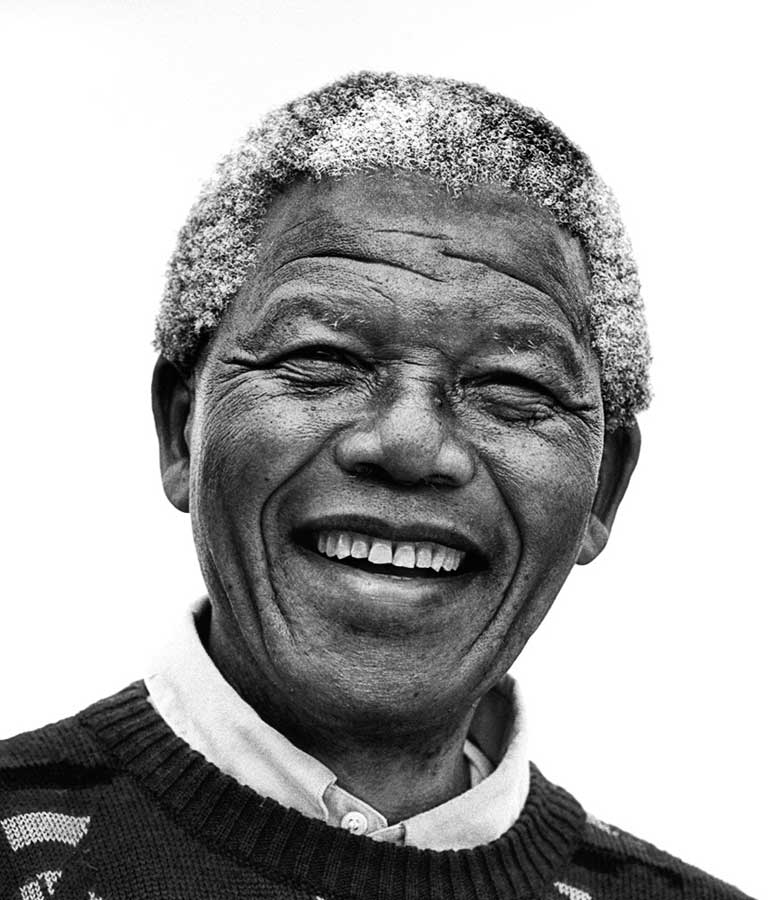 """Nelson Mandela - """"I learned that courage was not the absence of fear, but the triumph over it. The brave man is not he who does not feel afraid, but he who conquers that fear."""" - Nelson Mandela"""