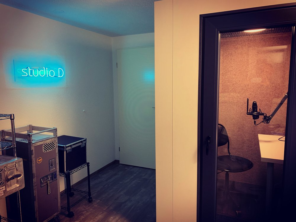 studio D Audio- und Podcaststudio -
