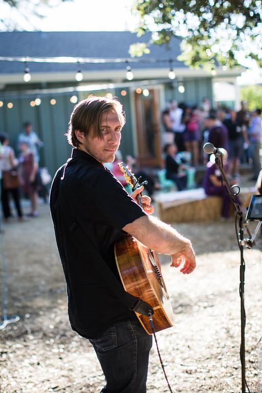 David Ronconi Band providing live music at our Napa open house