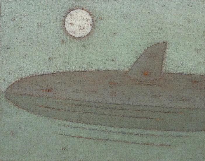 "DEEP WATER SUMMER, Oil on Canvas, 11 x 14"""