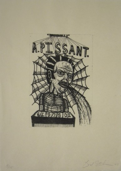 A.PISSANT, Lithograph, Ed. 9/15, 20 1/2 x 17
